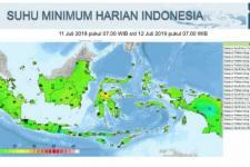 BMKG: Jakarta Lebih Dingin pada Malam Hari karena Minim Awan