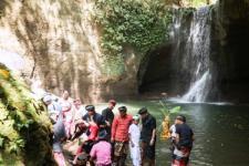 Bupati Gianyar Bali Resmikan Destinasi Air Terjun Suwat