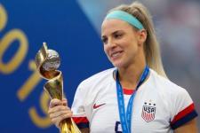 Julie Ertz Dinobatkan Pemain Terbaik AS 2019