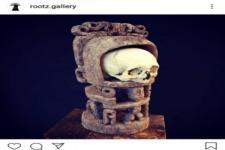 Ilegal, Tengkorak Asmat dan Patung Korwar Dijual Online