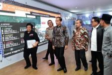 Presiden Tinjau Posko Penanganan Karhutla Riau