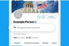 Twitter Labeli Akun Milik Pemerintah