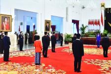 Presiden Anugerahi Sejumlah Tokoh Tanda Kehormatan RI