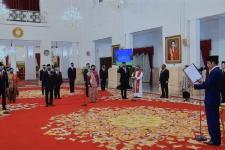 Presiden Lantik 12 Duta Besar RI untuk Negara Sahabat