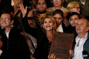 Anez Jabat Presiden Bolivia Gantikan Evo Morales
