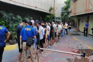 Filipina Tangkap 90 Orang Pengelola Judi Ilegal