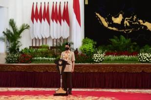 Presiden: Karakter Pramuka Diperlukan untuk Hadapi Pandemi COVID-19