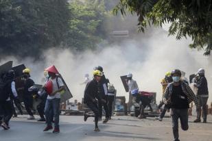 Junta Militer Myanmar Tahan Enam Jurnalis