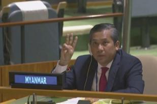 Junta Militer Mynamar Pecat Dubes untuk PBB