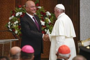Paus Ajak Irak Hadapi Korupsi dan Penyalahgunaan Kekuasaan