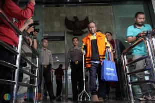 Pemeriksaan Perdana Sugiharto setelah Ditahan KPK