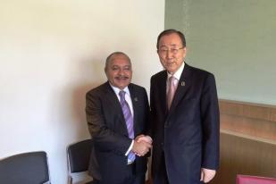 PM Papua Nugini Bertemu Sekjen PBB Bicarakan Referendum