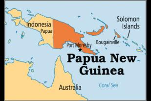 Gempa Berkekuatan 6,3 SR Guncang Papua Nugini