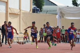 Ribuan Siswa Berlaga dalam Olimpiade Olahraga Siswa Nasional