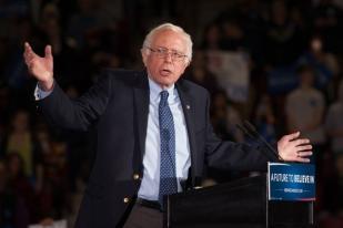 Bernie Sanders Ajak Pengikutnya All Out Kalahkan Trump
