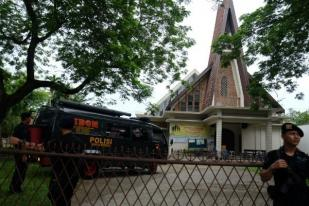 Bom Gereja Medan, PGI Minta Aparat Deteksi Dini Terorisme