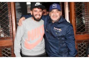 Diego Maradona Resmi Akui Anak Hasil Hubungan Gelapnya