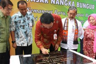Ahok Resmikan Pasar Nangka Bungur Jakarta Pusat