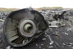 Ukraina Tuduh Rusia Terlibat Jatuhnya Pesawat MH17