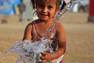 DGD Gabung Komunitas Biru, Tolak Air Minum Kemasan