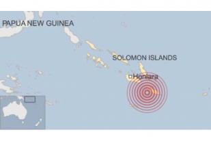 Gempa 7,7 SR Landa Kepulauan Solomon