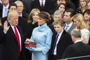 Donald Trump Resmi Jadi Presiden AS