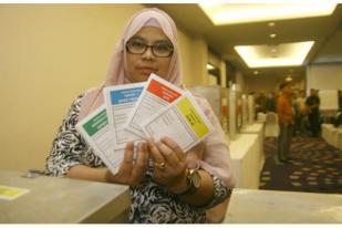 Ratusan Pemilih Coblos Ulang di TPS Kalibata