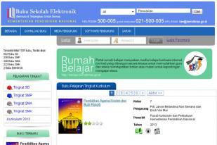 Buku Sekolah Elektronik Permudah Peroleh Buku Pelajaran