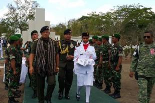 Panglima TNI Ziarah ke TMP Prajurit TNI di Timor Leste