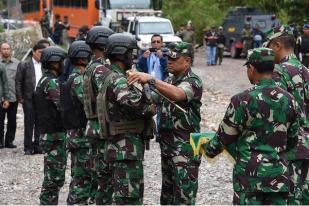 Panglima TNI Beri Penghargaan pada Prajurit Bebaskan Sandera Papua