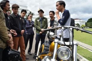 Jokowi Beli Motor Chopperland Ditawar Jadi Rp140 Juta