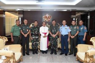 Panglima: TNI Komitmen Toleransi Antar Umat Beragama