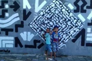 7 Seniman Pro-Israel Melukis di 3 Kota Indonesia