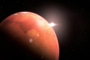 Mars akan Terlihat Lebih Besar dan Terang