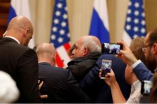 Jurnalis AS Diusir Paksa Sebelum Jumpa Pers Trump-Putin