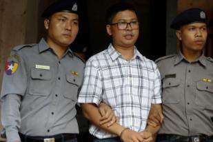 Jurnalis Reuters Mengaku Tak Bersalah di Myanmar