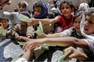 Ratusan Ribu Anak Yaman Terancam Bahaya Maut