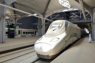 Arab Saudi Resmikan Kereta Cepat Mekkah - Madinah