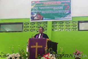 GKI Sinai - Jayapura Ajak Warga Jaga Kedamaian Natal