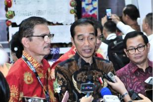 Presiden Jokowi Tanggapi Penetapan Dirut PLN Tersangka