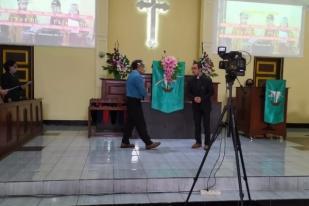 Gereja Purbalingga Batasi Kapasitas Duduk Ibadah Tatap Muka