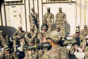 AS Akan Pangkas Pasukan di Afghanistan
