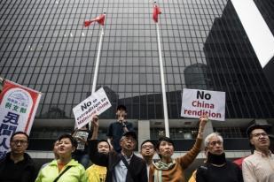 Unjuk Rasa di Hong Kong meski RUU Kontroversial Ditangguhkan