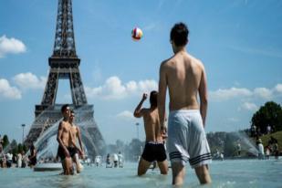 Eropa Dilanda Gelombang Panas, Beberapa Sekolah di Prancis Diliburkan