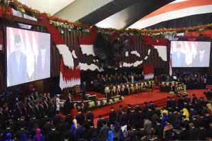 Pelantikan Jokowi-Ma'ruf Sederhana