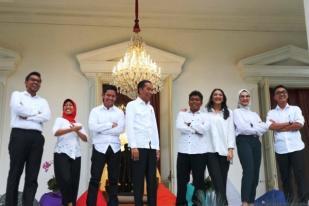 Presiden Joko Widodo Tambah Stafsus Milenial Tujuh Orang