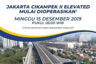 Tol Layang Jakarta-Cikampek Dibuka untuk Publik 15 Desember
