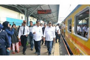 Jakarta-Merak, Kemenhub Tingkatkan Kecepatan dan Reaktivasi Jalur KA