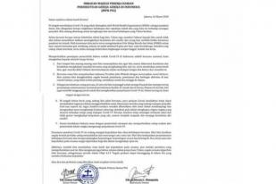 PGI: Bangun Solidaritas di Tengah COVID-19