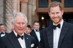 Pangaren Charles Berikan Dukungan Pada Pangeran Harry